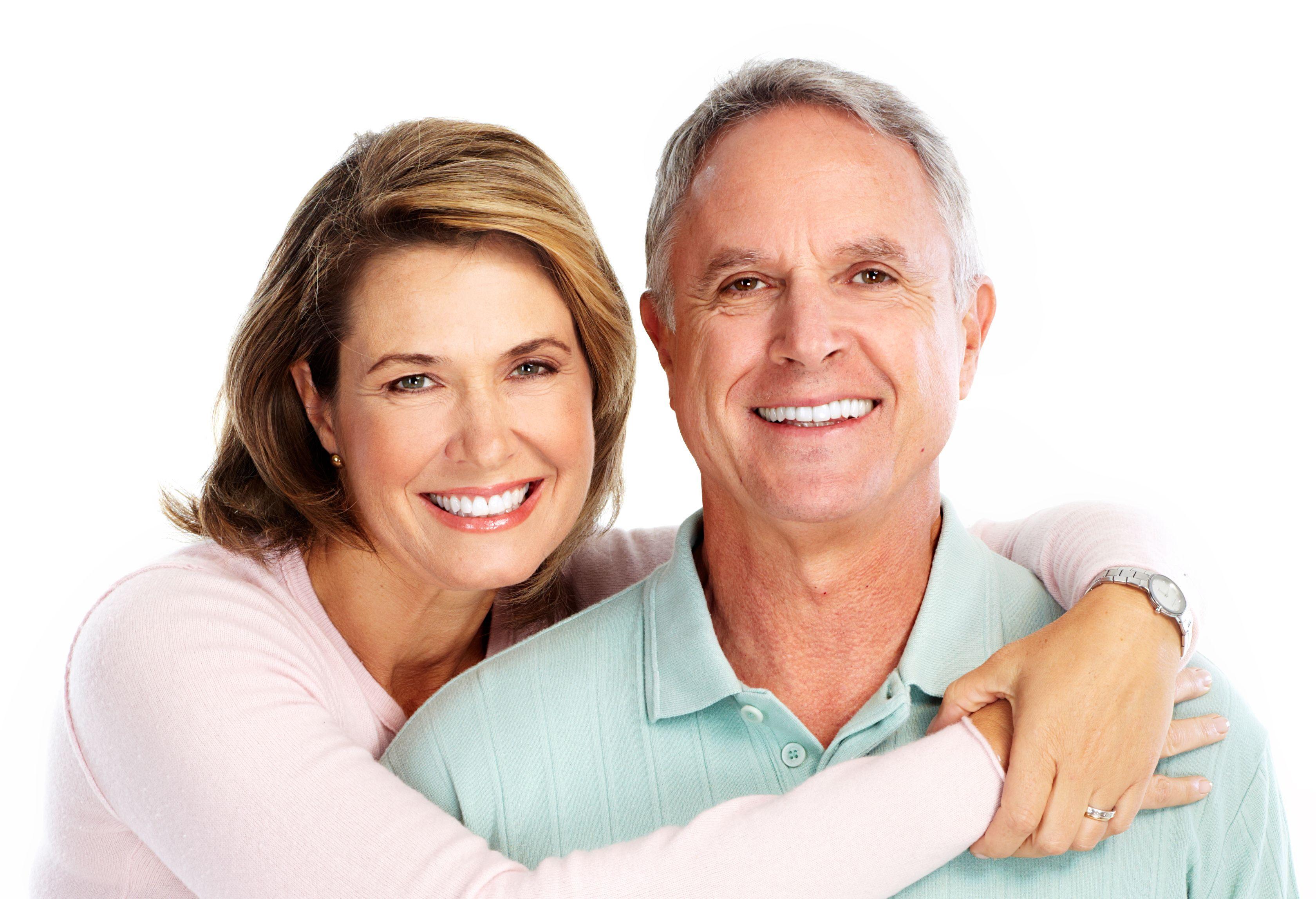 happy senior couple in love Dental Care Center