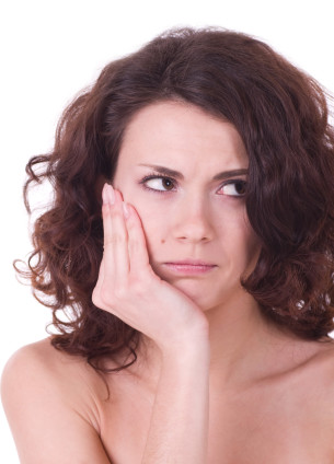 woman with toothache Dental Care Center