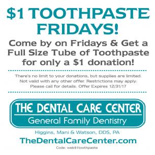 DCC 1 toothpaste