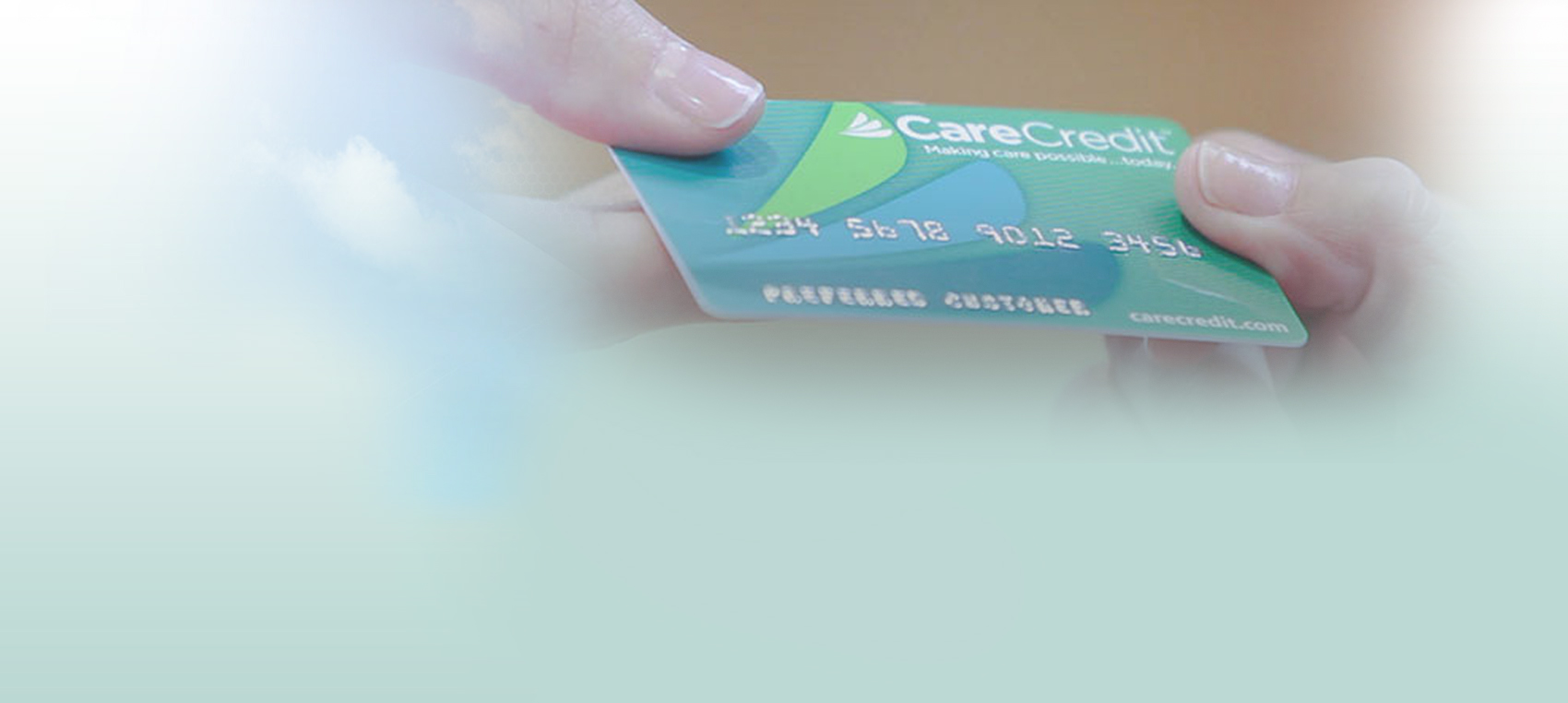 credit card Dental Care Center