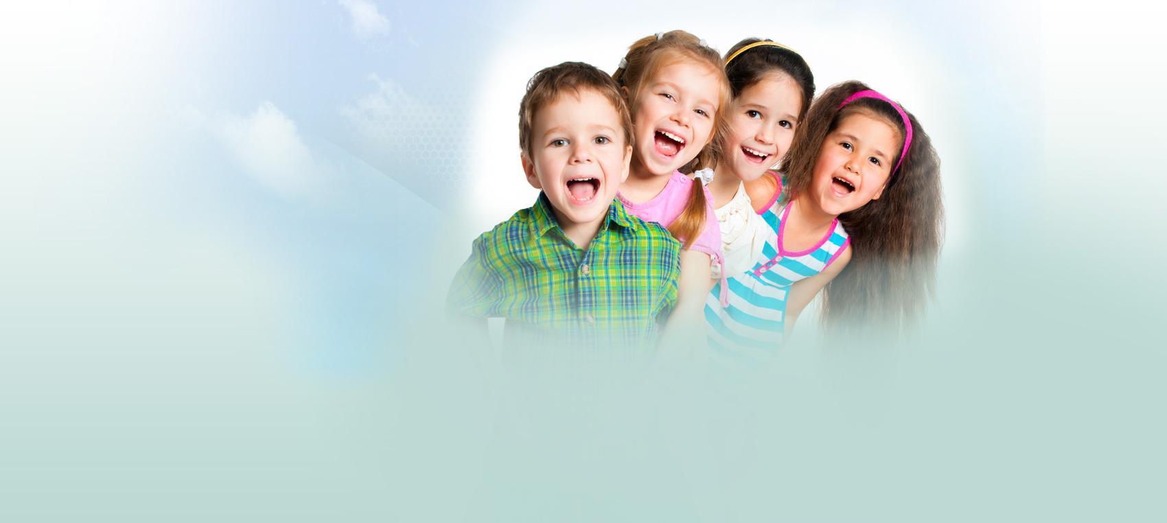 kids smiling Dental Care Center