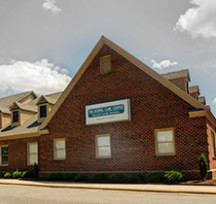 brick building Dental Care Center