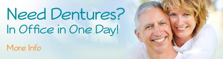 need dentures? Dental Care Center