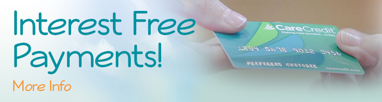 interest free payments Dental Care Center