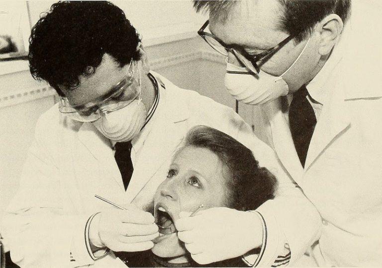 vintage dentist Dental Care Center