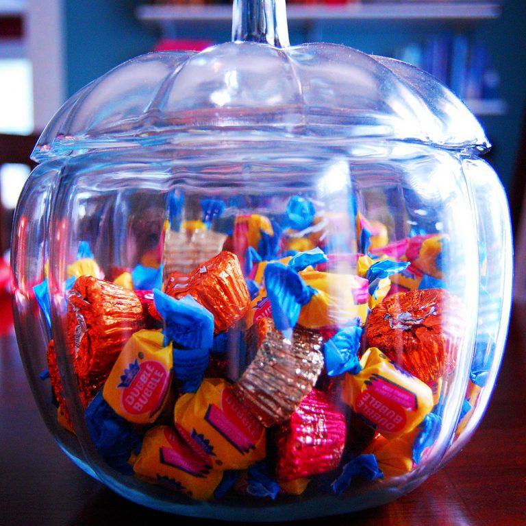 halloween candy Dental Care Center