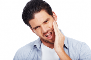 man with jaw pain Dental Care Center