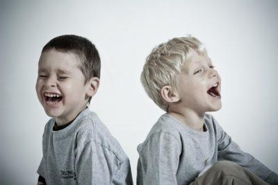 boys laughing Dental Care Center