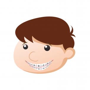 boy with braces Dental Care Center